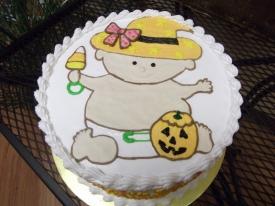 Halloween Baby Cake